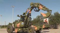 什么?无人系统挑战赛赛场竟出现了大型挖掘机