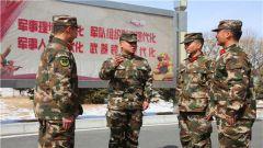 """武警海北支队着力打好""""四反""""斗争主动仗"""