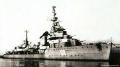 """""""最贵""""军舰 十七吨黄金一艘二手军舰"""