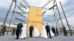 【军事嘚吧】有一种浪漫叫军营集体婚礼