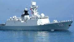 """海军""""芜湖""""舰参加突尼斯海军成立60周年阅舰式"""