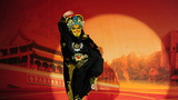 """解放军北京老干部活动中心举行""""将星闪烁大舞台""""文化服务进所重阳节慰问演出。图为川剧表演《变脸》"""