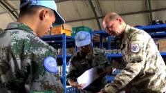 我赴黎维和部队通过联合国装备和战备核查