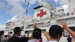 和平方舟圆满完成安提瓜和巴布达首访任务