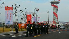 武警蚌埠支队扎实做好省运会安保工作