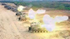 陆军检验多型武器实弹打击效能