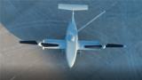 彩虹-10无人倾转旋翼机是一种融合直升机技术和固定翼飞行器技术的新型无人飞行器,在直升机模式下垂直起降,在固定翼飞行器模式下快速巡航,通过旋翼倾转实现飞行模式转换。彩虹-10无人倾转旋翼机既具有类似直升机的垂直起降和悬停作业能力,又具有固定翼飞行器飞行速度快、航程远的优点,可执行侦察、探测、通信中继、搜索、目标指示、中继制导等任务。
