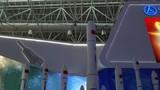 """11月6日至11日,第十二屆中國國際航空航天博覽會將在珠海舉行。在本次航展,眾多代表中國航天最新發展成果的新裝備集中亮相。其中,新一代運載火箭家族以及中國探月工程中的""""嫦娥四號探測器""""與""""嫦娥四號中繼星""""引起關注。該圖為新一代運載火箭家族集中亮相"""