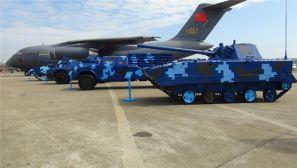 高清大图看航展 运-20携空降装备大亮相