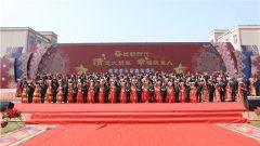 """火箭军某部88对新人集体婚礼掀起""""最炫民族风"""""""