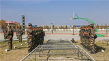武警某部:训练场 战术训练激战正醇