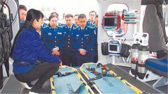 中部战区空军:构建快捷高效空中医疗救援新模式