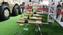 """""""红箭""""10导弹发射车 携反坦克导弹集中亮相"""