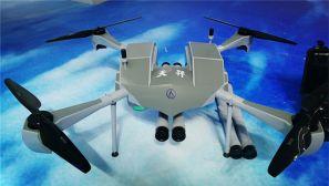 這架無人機真猛竟然可以打敗裝甲車