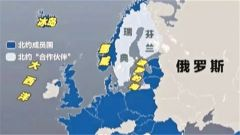 俄罗斯与北约演习区域重叠