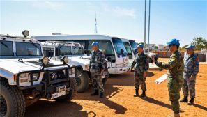 中国赴苏丹达尔富尔维和分队通过联合国装备核查