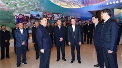 习近平参观庆祝改革开放40周年大型展览侧记