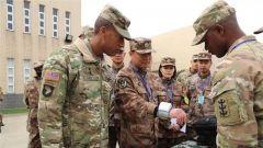 中美两军人道主义救援减灾联合演练开幕