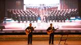 乐队原创《雪山下的士兵》。