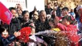 2012 年 11 月,陕西省绥德县刘家石畔村安全饮水工程通水。