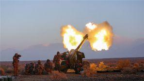 硝烟味十足!新疆军区某师进行战备拉动考核