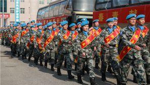 出征:中国第五批赴南苏丹(朱巴)维和步兵营