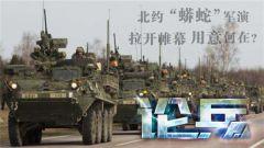 """论兵·北约""""蟒蛇""""军演重新启动 剑指俄罗斯?"""