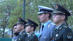 起床出操 外军学员能否适应中国军校的生活