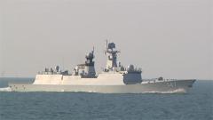 """海军组织""""战神杯"""" 舰炮实弹射击竞赛性考核"""
