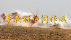 祁连山下炮火连天 合成营多兵种协同火力打击