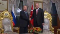 俄土总统举行闭门会谈