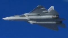 俄罗斯在叙利亚测试苏-57战机