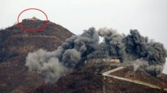 朝鲜半岛局势 朝鲜炸毁10处非军事区警备哨所