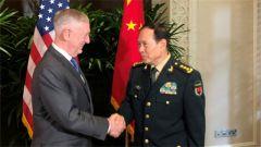 【国防部】推动中美两军关系成为两国关系稳定器