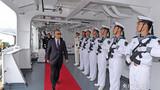 """执行""""和谐使命-2018""""任务的中国海军和平方舟医院船29日抵达智利港口城市瓦尔帕莱索,首次对智利进行友好访问,参加智利海军成立200周年庆典活动和""""2018拉美国际海事防务展""""。"""