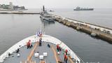 和平方舟驶抵智利瓦尔帕莱索港。江山摄