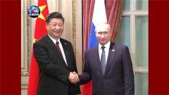 国家主席习近平在布宜诺斯艾利斯会见俄罗斯总统普京