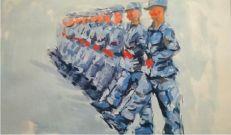 军旅绘画  |携笔从戎,赴青春之约