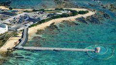 【驻日美军基地搬迁】沙土装船作业启动 填海造地在即
