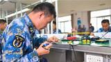 近期,南部戰區海軍某部舉辦2018年度艦員維修技能比武競賽,檢驗艦員維修技能水平。