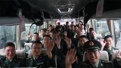 驻香港部队第二十批军官轮换离港