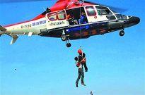 空军与地方通航公司展开直升机救援合作