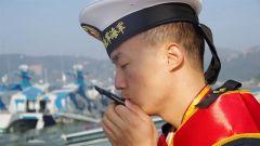 【退伍季】再见 我的海军蓝!再见 我的浪花白!
