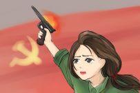 这几张漫画,展现了女兵变迁史