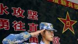 研究生新兵李星宇代表新战士发言