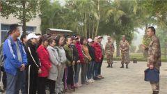 """陆军某边防旅与驻地组织开展""""爱国主义国防教育""""活动"""