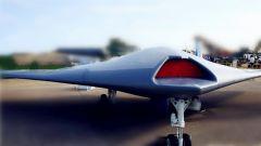 【第一军视】又公开一款隐身无人机 外形酷似UFO