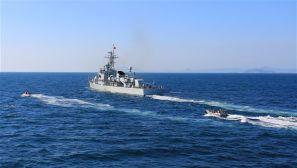 海军某护卫舰支队:考核来袭 炮火出击!