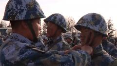 新训结业 海军数千名新战士被授予军衔