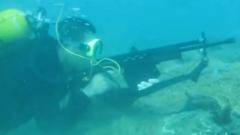 水下射击是什么感觉 了解一下!